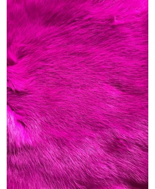 pink gefärbt