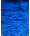 Kaninchenfell royalblau gefärbt