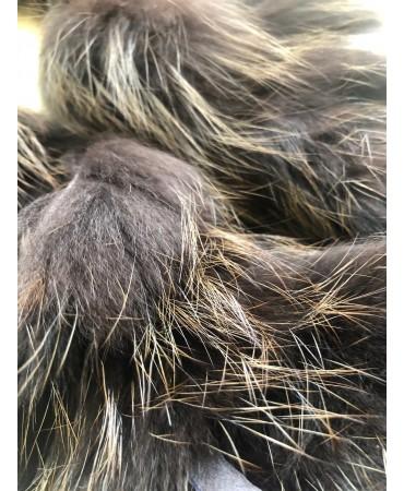 Schweizer Rotfuchsboa dunkelbraun gefärbt